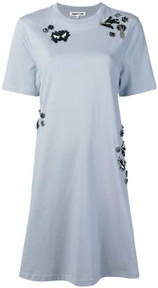 McQ embellished T-shirt dress