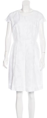 Max MaraMaxMara Floral Knee-Length Dress