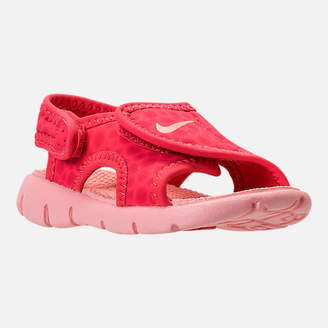 6a1b12120854 at Finish Line · Nike Girls  Toddler Sunray Adjust 4 Sandals