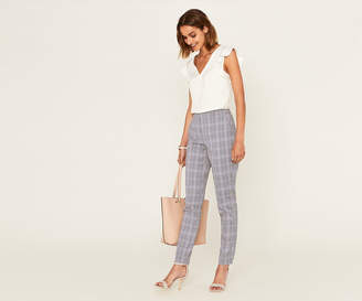 Oasis LONG CHECK TROUSERS