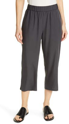 Eileen Fisher Slouchy Crop Pants