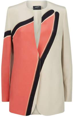 Akris Geometric Jacket