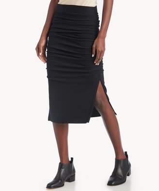 Sole Society Gathered Midi Skirt