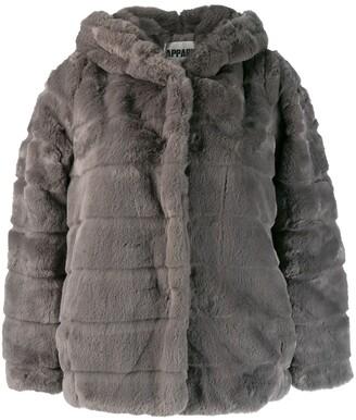 Apparis hooded oversized jacket