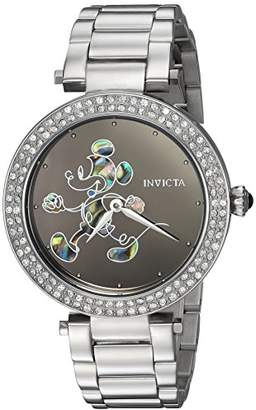 Invicta Women's 'Disney Limited Edition' Quartz Stainless Steel Casual Watch