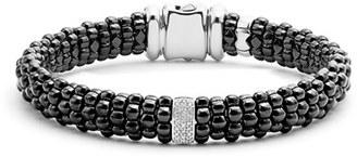 Women's Lagos Black Caviar Bracelet $750 thestylecure.com