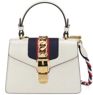 Sylvie leather mini bag $2,250 thestylecure.com