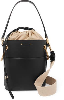 Chloé Roy Small Leather Bucket Bag - Black