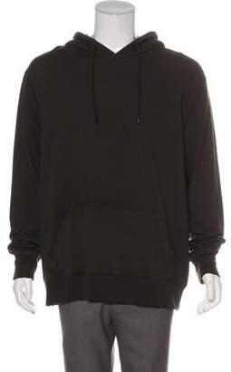 Cotton Citizen Distressed Hooded Sweatshirt