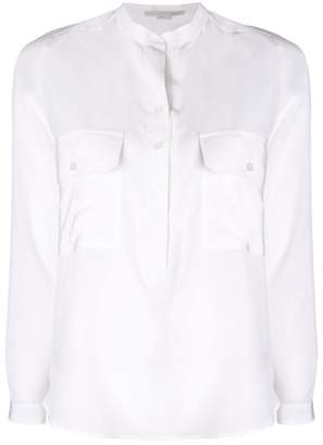 Stella McCartney collarless shirt