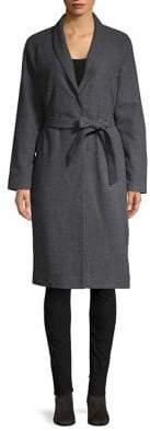 Vero Moda Emilia Raglan-Sleeve Plaid Coat