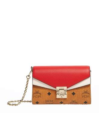 MCM Millie Flap Cross Body Leather Bag