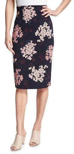 High Waisted Printed Skirt - ShopStyle Australia