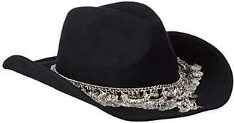 Gottex Women's Taj Felt Hat with Exotic Chain Trim $37.77 thestylecure.com