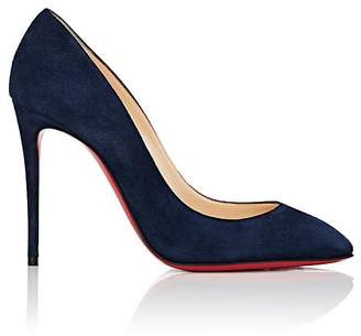 Christian Louboutin Women's Eloise Suede Pumps