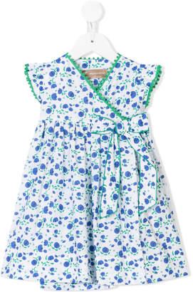 La Stupenderia floral print bow detail dress