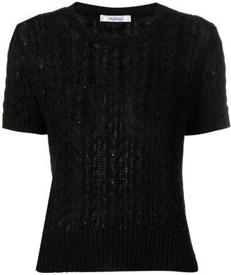 Max Mara Lusso knitted top