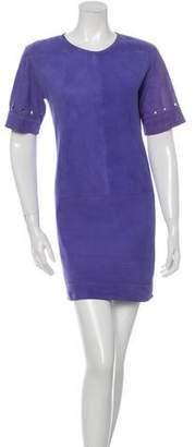 Victoria Beckham Victoria, Suede Shift Dress