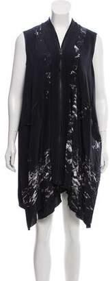AllSaints Oversize Silk Dress