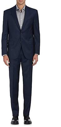 Piattelli MEN'S WORSTED WOOL TWO-BUTTON SUIT