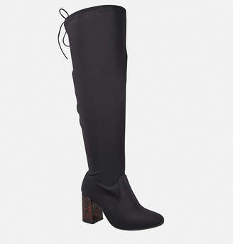 Avenue Empire Over the Knee Stretch Boot