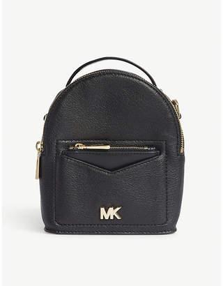 MICHAEL Michael Kors Jessa extra small leather cross-body backpack