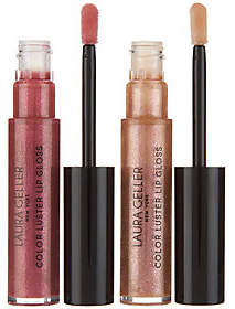 Laura Geller Color Luster Lip Gloss Hi-Def TopCoat Duo