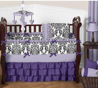 JoJo Designs Sweet Sloane 9 Piece Crib Bedding Set