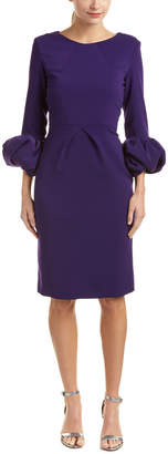 Issue New York Puffed Sleeve Cocktail Dress