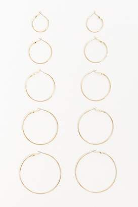 Forever 21 Hoop Earring Set