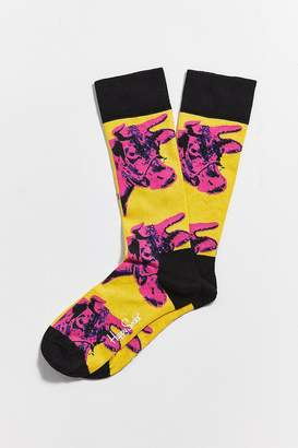 Happy Socks Andy Warhol Cow Sock