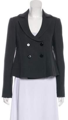 Emporio Armani Structured Wool Blazer