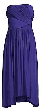 Ramy Brook Women's Ava Ruched Midi Dress
