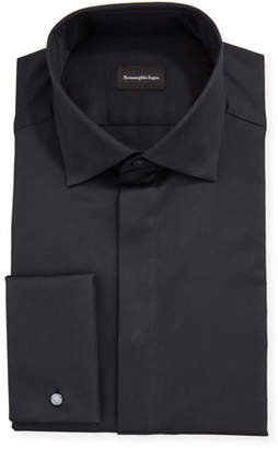 Ermenegildo Zegna Men's Bib-Front Formal Dress Shirt