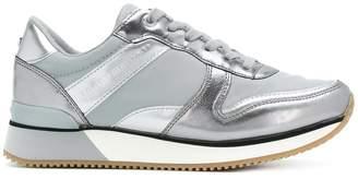 Tommy Hilfiger metallic sneakers