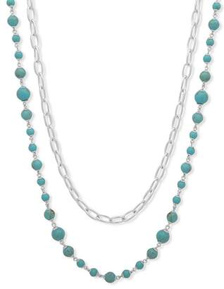 """Ralph Lauren Two In One Strand Necklace, 26"""""""