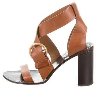 Chloé Buckle Ankle Strap Sandals