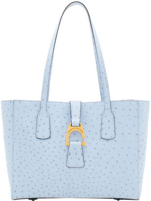 Dooney & Bourke Ostrich Small Shannon Tote