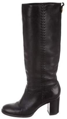 176ba88270b2 Tory Burch Stacked Heel Women s Boots - ShopStyle