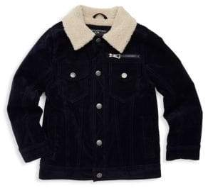 Urban Republic Boy's Faux Shearling-Collar Jacket
