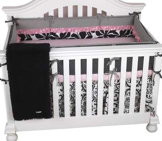 Cotton Tale Designs Girly 4-Piece Crib Bedding Set, 1-Pack