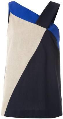 M·A·C Mara Mac color block blouse
