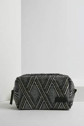 BDG Black and White Print Make-Up Bag