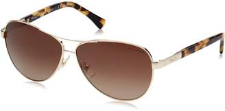 Polo Ralph Lauren Women's 0RA4116 Aviator Sunglasses