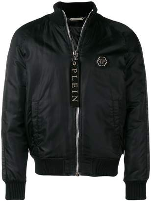Philipp Plein X Playboy side stripe jacket