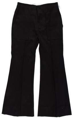 Bassike High-Rise Wide-Leg Pants