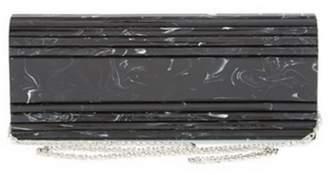 La Regale Marble Roll Clutch
