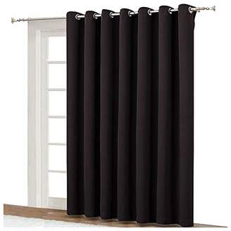 NICETOWN Drapes for Sliding Glass Door - Thermal Insulated Door Blinds