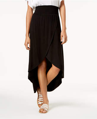BCX Juniors' Tulip-Hem High-Low Maxi Skirt