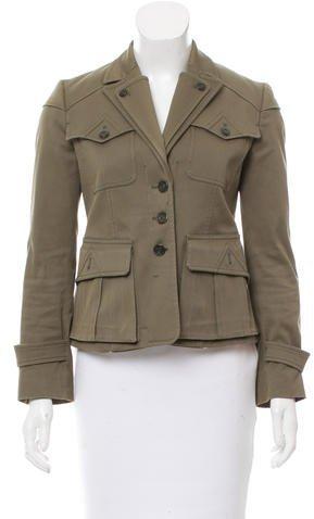 Gucci Notch-Lapel Jacket